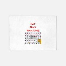 mahjong joke 5'x7'Area Rug