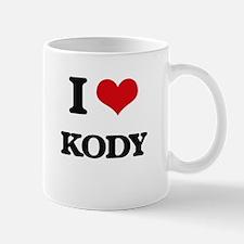 I Love Kody Mugs