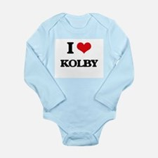 I Love Kolby Body Suit