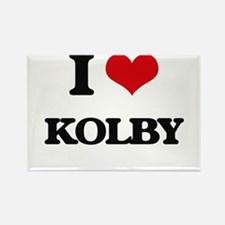 I Love Kolby Magnets