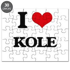I Love Kole Puzzle
