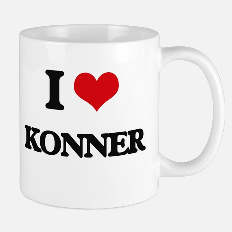 I Love Konner Mugs