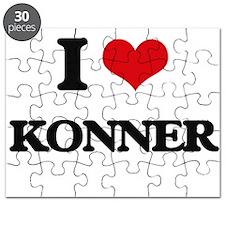 I Love Konner Puzzle