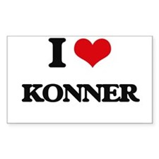 I Love Konner Decal