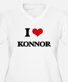 I Love Konnor Plus Size T-Shirt