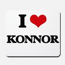 I Love Konnor Mousepad