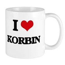 I Love Korbin Mugs