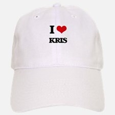 I Love Kris Baseball Baseball Cap