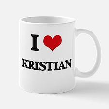 I Love Kristian Mugs