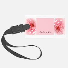 La Vie en Rose Luggage Tag