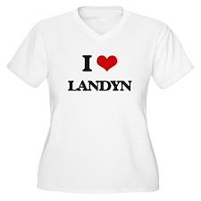 I Love Landyn Plus Size T-Shirt