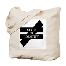Style Is Identity Tote Bag