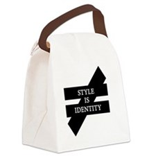 Style Is Identity Canvas Lunch Bag