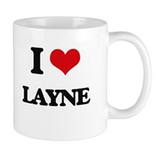 I Love Layne Mugs