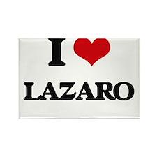 I Love Lazaro Magnets