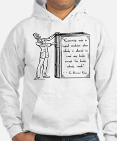 Shaw on Censorship<br> Hoodie