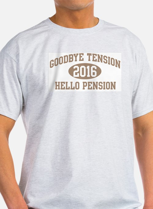 Hello Pension 2016 T-Shirt