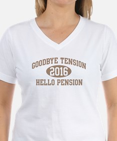 Hello Pension 2016 Shirt
