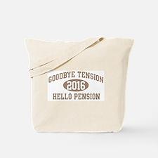 Hello Pension 2016 Tote Bag