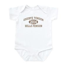 Hello Pension 2014 Infant Bodysuit