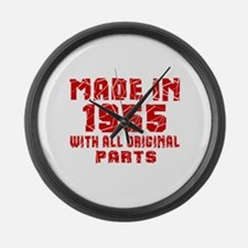 Made In 1951 With All Original Pa Large Wall Clock