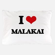 I Love Malakai Pillow Case