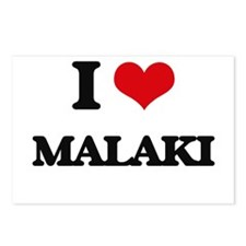 I Love Malaki Postcards (Package of 8)