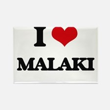 I Love Malaki Magnets