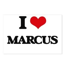 I Love Marcus Postcards (Package of 8)