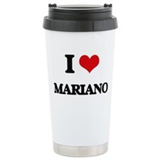 I Love Mariano Travel Coffee Mug