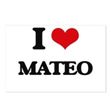 I Love Mateo Postcards (Package of 8)