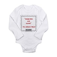 McVOMIT Long Sleeve Infant Bodysuit