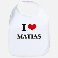 I Love Matias Bib