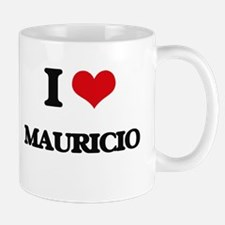 I Love Mauricio Mugs