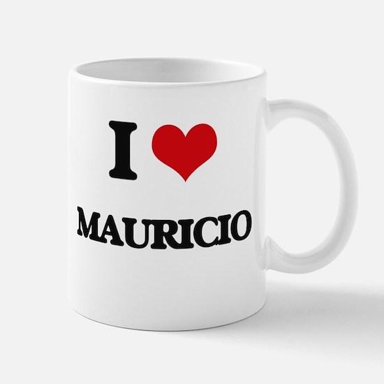 I Love Mauricio Mugs