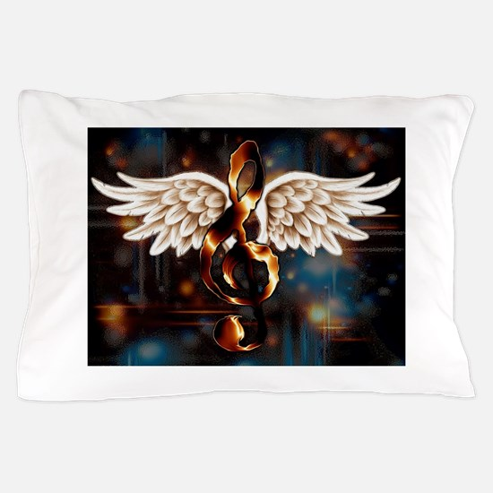 Angelic Music Pillow Case