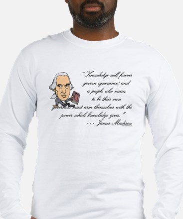 Madison on Knowledge<br> Long Sleeve T-Shirt