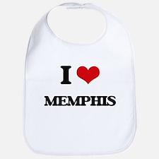 I Love Memphis Bib