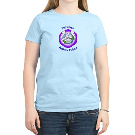 Midwives Hold the Future Women's Pink T-Shirt