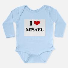 I Love Misael Body Suit