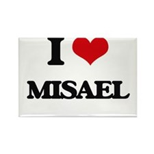 I Love Misael Magnets