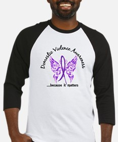 Domestic Violence Butterfly 6.1 Baseball Jersey