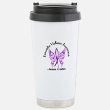 Domestic Violence Butte Stainless Steel Travel Mug