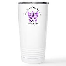 Domestic Violence Butte Travel Coffee Mug