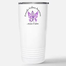 Domestic Violence Butte Travel Mug