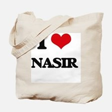I Love Nasir Tote Bag