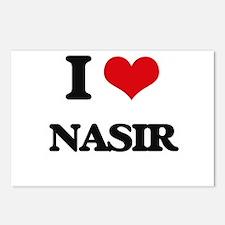 I Love Nasir Postcards (Package of 8)