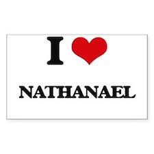 I Love Nathanael Decal