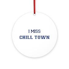 Chill Town Ornament (Round)