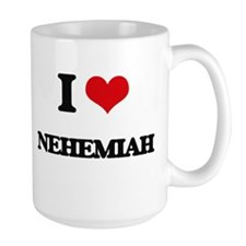 I Love Nehemiah Mugs
